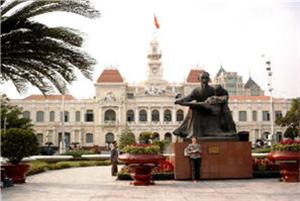 rathause saigon vietnam